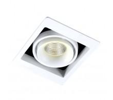 Светильник встраиваемый Donolux DL18615/01WW-SQ White/Black