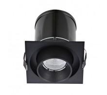 Светильник светодиодный встраиваемый Donolux DL18621/01SQ Black Dim