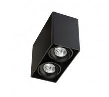 Светильник накладной светодиодный ITALLINE FASHION/2 black