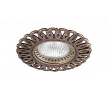 Точечный светильник N1555-Old Brass DONOLUX