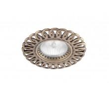 Точечный светильник N1555-Old Gold DONOLUX