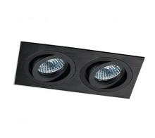 Светильник встраиваемый MEGALIGHT SAG 203-4 black/black