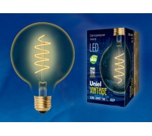 Лампа светодиодная Vintage LED-G95-4W/GOLDEN/E27/CW GLV21GO