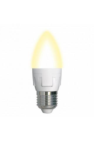 Лампа диммируемая светодиодная Uniel UL-00004297 Е27 7W 3000K