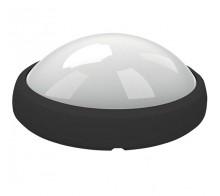 Светильник светодиодный накладной UNIEL ULW-O04-12W/NW BLACK Овал