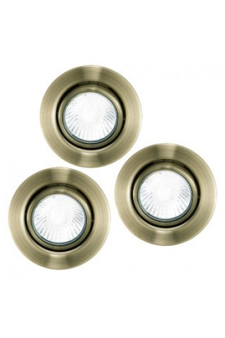 Комплект точечных светильников EGLO 87380 EINBAUSPOT