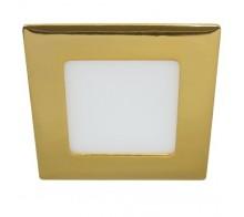 Светильник светодиодный встраиваемый FERON AL502 6W 6400K золото