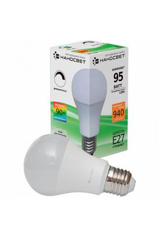 Лампа диммируемая светодиодная Наносвет L238 Е27 12W 2700K