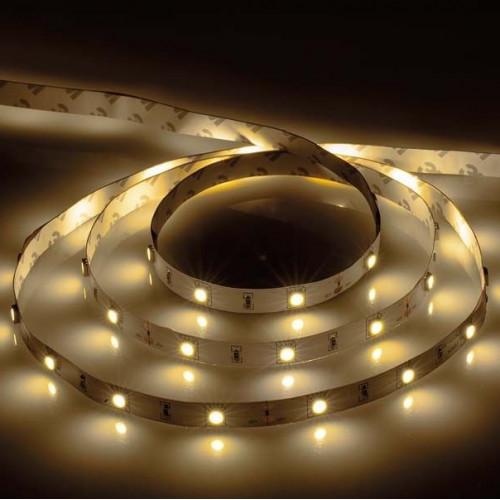 Светодиодная лента 7,2 Вт 12В 3000К 30 LED IP20 27643