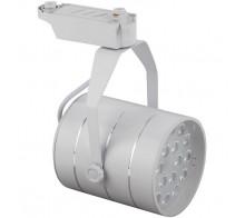 Трековый светодиодный светильник 18W 4000K Б0032107 однофазный