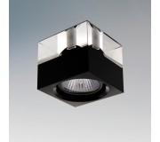 Точечный светильник LIGHTSTAR 004147 META QUBE CR-NERO, 004147