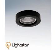 Точечный светильник LIGHTSTAR 006157 LEI MICRO NERO, 006157