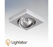 Точечный светильник LIGHTSTAR 006244 MATTONI QUAD, 006244