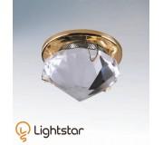 Точечный светильник LIGHTSTAR 009002 DIAMO HI, 009002