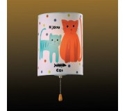 Светильник для детской комнаты ODEON 2279/1W СATS