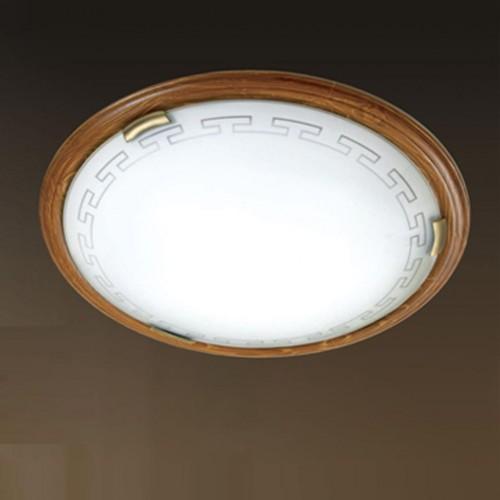 Светильник настенно-потолочный Сонекс 260 GRECA WOOD, 260