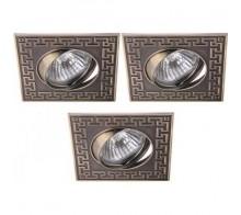 Комплект точечных светильников A2107PL-3AB ARTE LAMP ECLIPSE