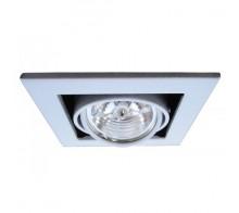Встраиваемый светильник ARTE LAMP A5930PL-1SI Cardani