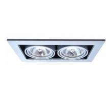 Встраиваемый светильник ARTE LAMP A5930PL-2SI Cardani