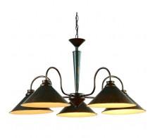 Люстра подвесная ARTE LAMP A9330LM-5BR CONE