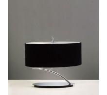 Лампа настольная MANTRA MN1178 EVE Chrome-Black Shade