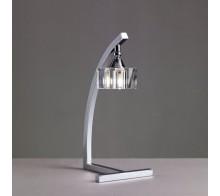 Лампа настольная MANTRA MN0964 CUADRAX Chrome Optical Glass