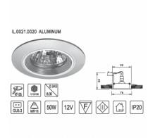 Точечный светильник IMEX 0021.0020 ALUMINUM
