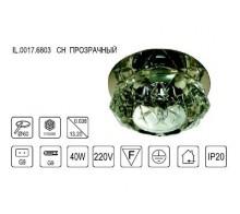 Светильник встраиваемый IMEX IL0017.6803 CH прозрачный