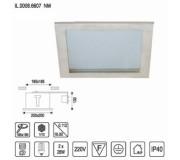 Встраиваемый светильник IMEX IL.0008.6607 NM
