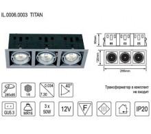 Встраиваемый светильник IMEX IL.0006.0003