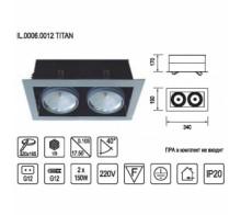 Встраиваемый светильник IMEX IL.0006.0012