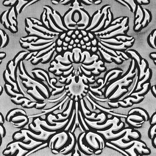 Декоративный пластик SIBU LL Imperial Black/Silver (без клеевой основы)