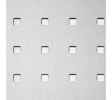 Декоративный пластик SIBU Q-10-40-40 Silver PF met