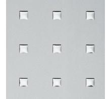 Декоративный пластик SIBU 3D Q-10-40-40 Silver PF met-Silver