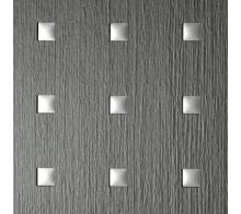 Декоративный пластик SIBU 3D Q-10-40-40 Smoke PF met touch 1-Silver mat