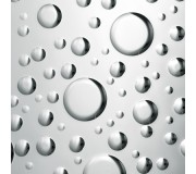 Декоративный пластик SIBU DROPS Silver, DROPS Silver