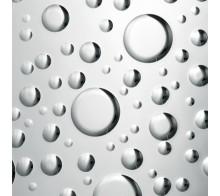 Декоративный пластик SIBU DROPS Silver