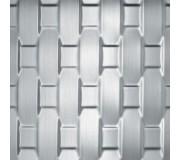 Декоративная панель SIBU RATTAN 20 Silver brushed, RATTAN 20 Silver brushed