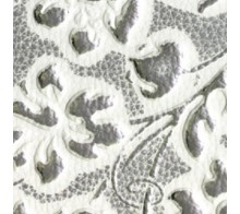 Декоративный пластик SIBU FLORAL White/Silver mat