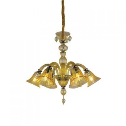 Люстра подвесная A8026LM-6CC ARTE LAMP CORNO