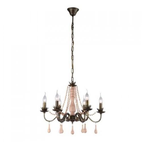 Люстра подвесная A1832LM-6GA ARTE LAMP ROSARIO