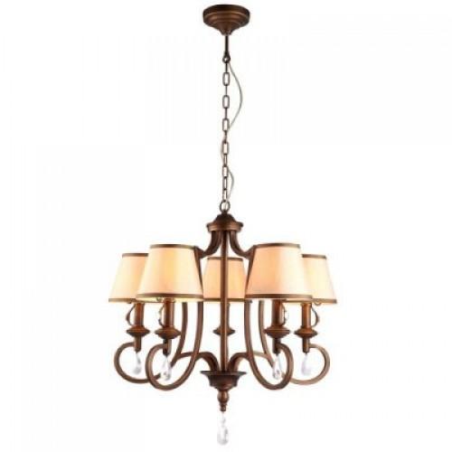 Люстра подвесная A6016LM-5BG ARTE LAMP CASTELLO