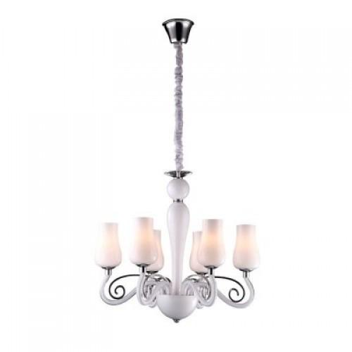 Люстра подвесная A8110LM-6WH ARTE LAMP BIANCANEVE