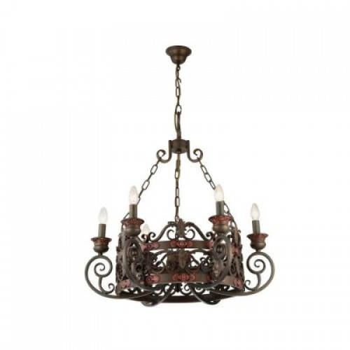Люстра подвесная A8852LM-6BR ARTE LAMP CAPITELLO