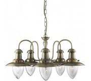 Люстра подвесная A5518LM-5AB ARTE LAMP FISHERMAN, A5518LM-5AB