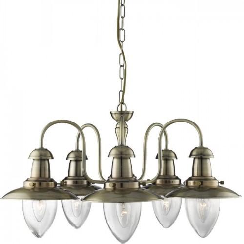 Люстра подвесная A5518LM-5AB ARTE LAMP FISHERMAN