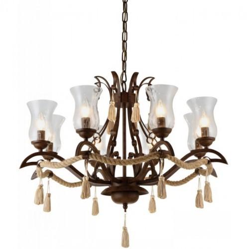 Люстра подвесная A8989LM-8BR ARTE LAMP GALEONE