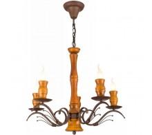 Люстра подвесная A6742LM-5BR ARTE LAMP LEGNO