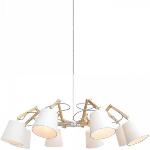 Люстра подвесная ARTE LAMP A5700LM-8WH PINOCCIO
