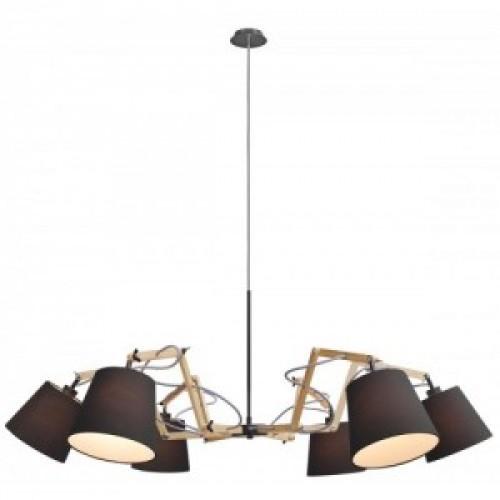 Люстра подвесная ARTE LAMP A5703LM-6BK PINOCCIO